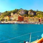 Sailing from Nice to Saint Tropez